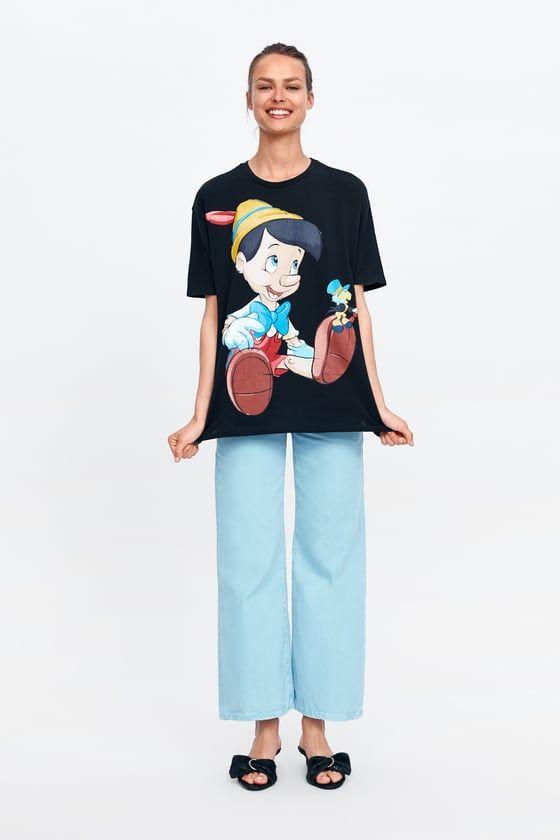 atesorar como una mercancía rara mejor autentico nueva productos calientes Camiseta pinocho ©disney | Fabiana en 2019 | Pinocho disney ...