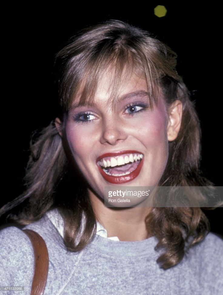 Renee Simonsen attends Face of the 80s Party on August 14, 1982 at the Beacon Theater in New York City.