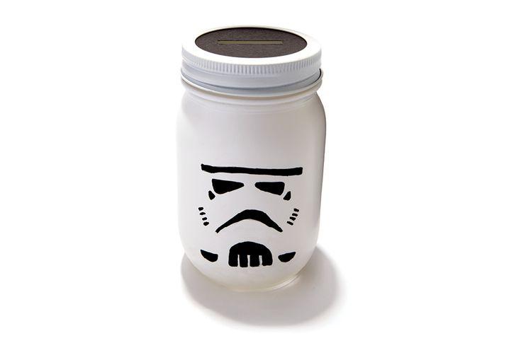 256 best star wars party images on pinterest star wars party star wars cake and star wars - Stormtrooper cookie jar ...