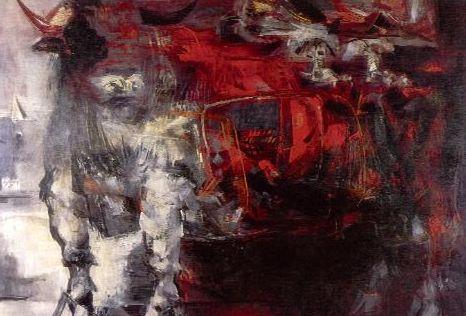Alejandro Obregón, Toro cóndor, 1959