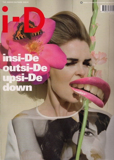 LINDER STERLING, I-D MAGAZINE NOV 09 COVER: for the incredi-season of her collaboration with richard nicoll's aw09 collection.