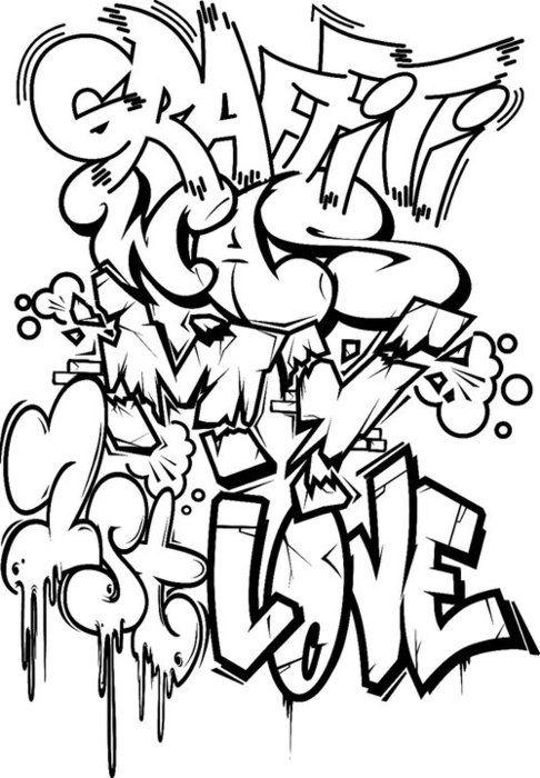 el graffiti fue mi primer amor