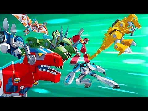 Transformers Rescue Bots - Avalancha de Nieve - Dibujos para Niños y Videos Infantiles - YouTube