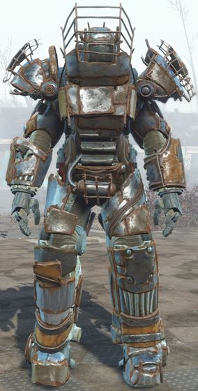 Raider power armor is a variant of power armor in Fallout 4. It is used by some raider leaders...