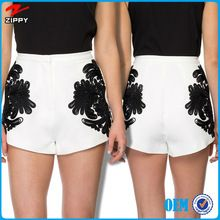 High quality embroider shorts white ladies shorts Best Seller follow this link http://shopingayo.space