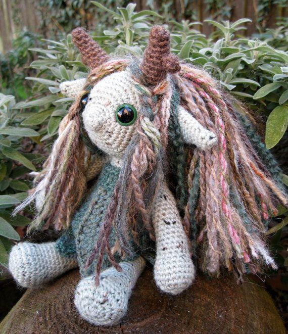 PDF of Little Folk Amigurumi Pattern - Elf, Fairy, Sprite Crochet Pattern. $5.00, via Etsy.: Troll Dolls, Crochet Dolls, Crochet Projects, Easy Crafts Fairies, Folk Amigurumi, Crochet Monsters, Crochet Patterns, Dolls Patterns, Amigurumi Patterns