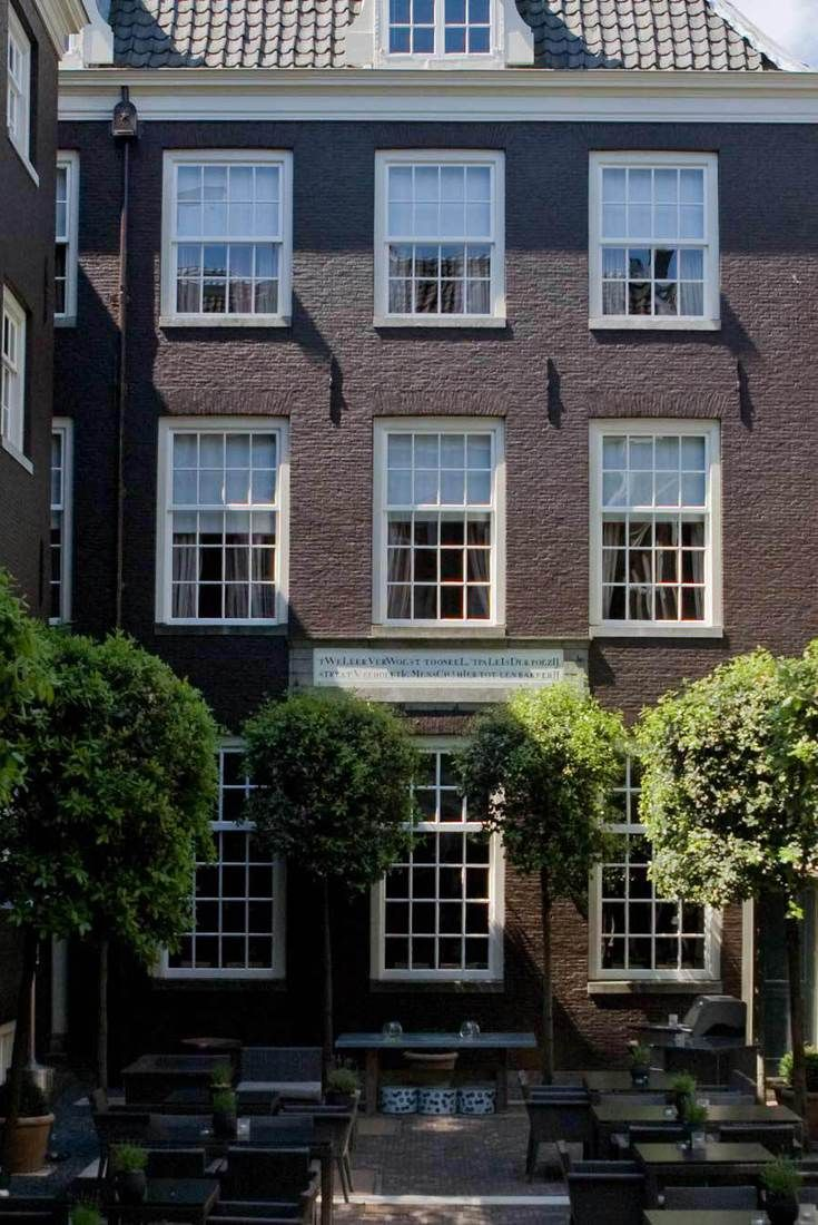 The Dylan Hotel Amsterdam consists of Keizersgracht canal houses with one manicured courtyard nestled at its heart. The hotel is continually recognized for its contemporary-meets-classic design and its dedicated service. For those who appreciate
