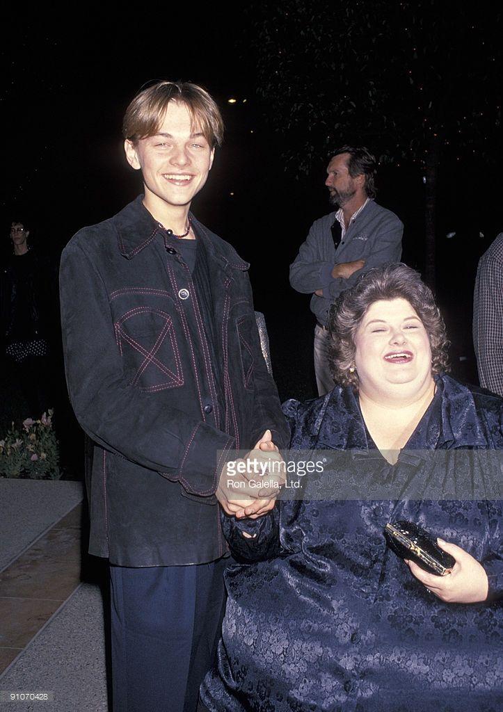Leonardo DiCaprio and Darlene Cates