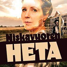 Paimion kesäteatteri esittää Hella Wuolijoen rakastetun klassikon Niskavuoren Heta. 1.-22. heinäkuuta.
