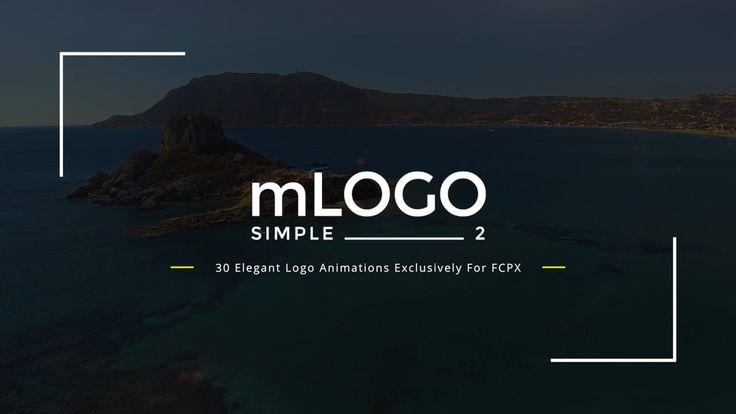 NEW #FCPX PLUGIN ! Introducing mLogo Simple 2 - http://bit.ly/mLogoSimple2 #FinalCutProX #VideoEditing #Motion5 #Design #Apple