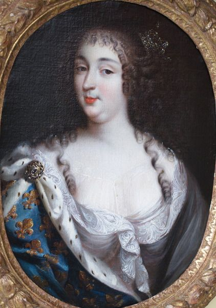 Ecole Française portrait de Marie Thérèse d'Autriche