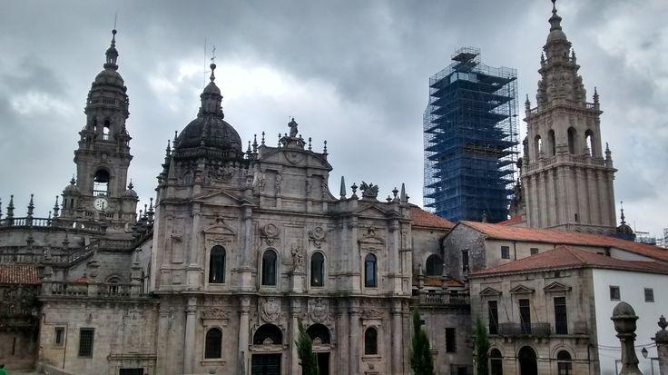 Santiago de Compostela en La Coruña, Galicia #MiCamino
