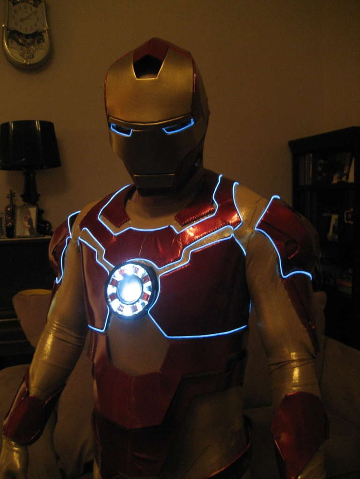 DIY Iron Man costume