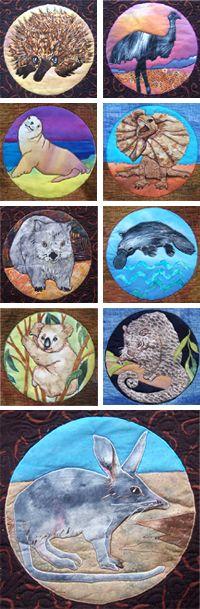 Australian animals Julie Haddrick