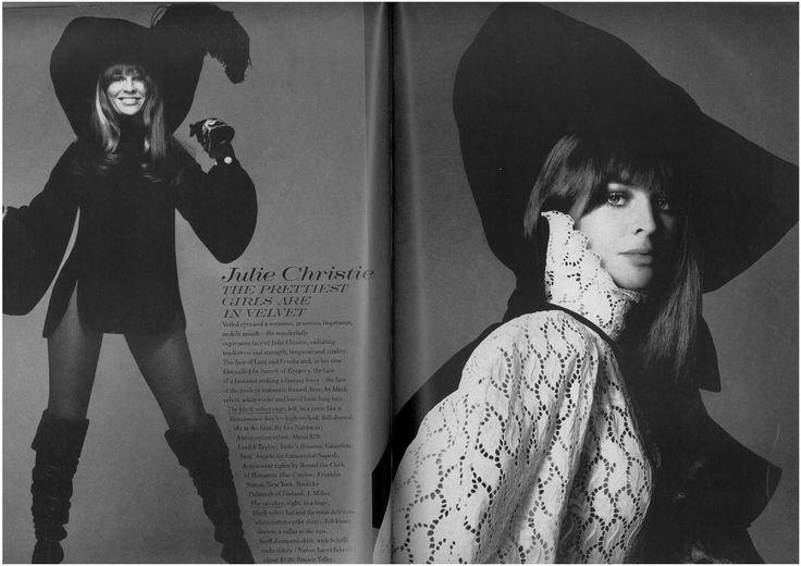 Palmroth boots - Vogue US August '68 - Julie Christie