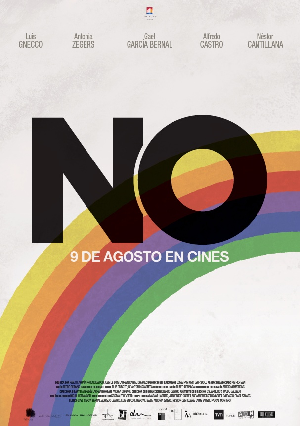 NO: Pablo Larrain's film, 2012: movie poster