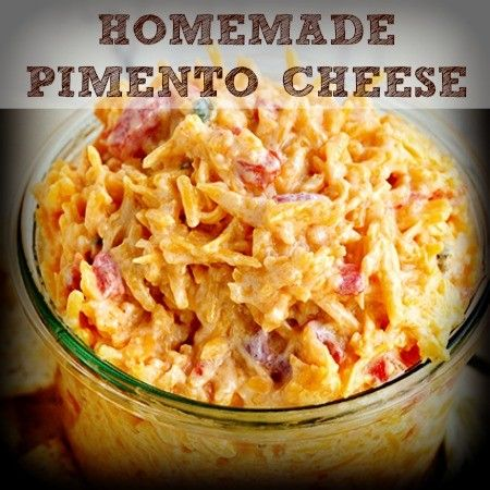 This Homemade Pimento Cheese recipe is easy to make and tastes so much better than the neon-colored stuff from the store. Try it in grilled sandwiches, too!