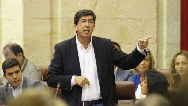 C's intentará que el Parlamento de Andalucía apoye su texto contra el 1-O rechazado por el PSOE en el Congreso de los Diputados