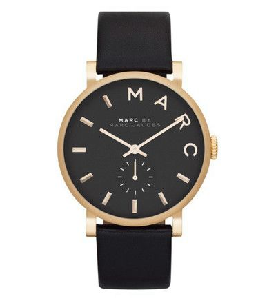 Montre Marc by Marc Jacobs MBM1269 Marc By Marc Jacobs en noir - Galeries Lafayette