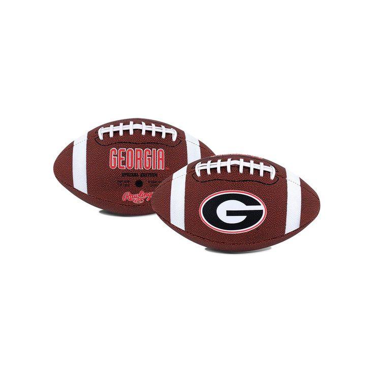 Rawlings Georgia Bulldogs Game Time Football, Red