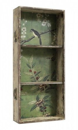 :: Wallpapered drawer - Tall green - Plümo Ltd ::