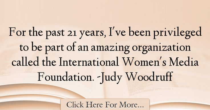 Judy Woodruff Quotes About Amazing - 2797