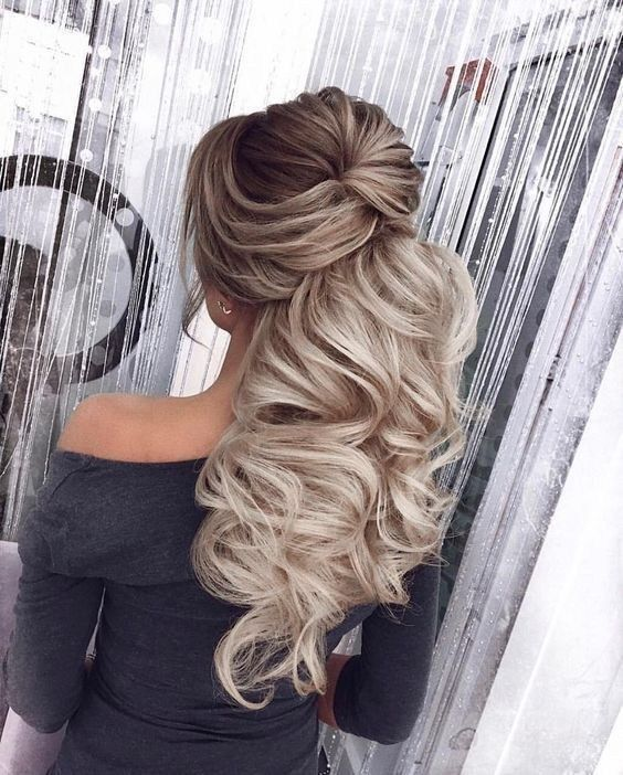 66 elegant bridal woman hairstyles 2019 for long hair best bridal hairstyle 30