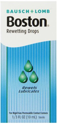 Boston Rewetting Drops for Rigid Gas Permeable Contact Lenses 13 Ounce Bottle ** Read more reviews of the product by visiting the link on the image.