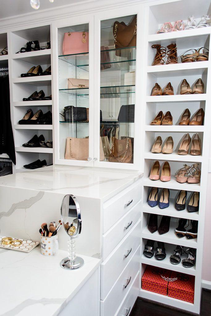 Style By Camara Beautiful Custom Closet Design Jewelry Draw And Shoe Rack