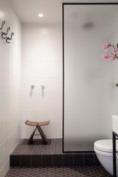 Paroi de douche en Verre Sécurit Dépoli