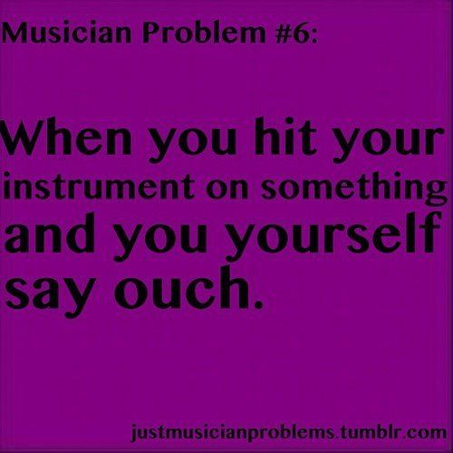 I do this with my oboe all the time. all the time!!! especially my reed. How many reeds have I broken like this? idk, too many to count