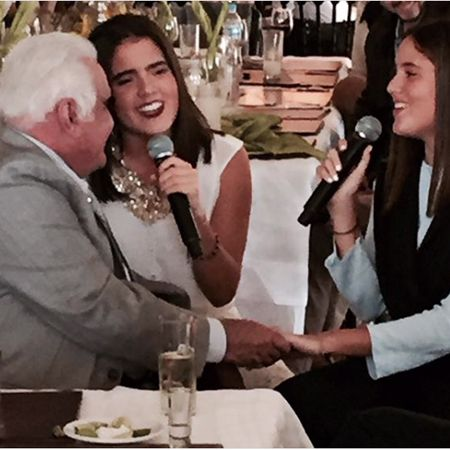 Camila Fernández rinde homenaje a su abuelo Vicente Fernández