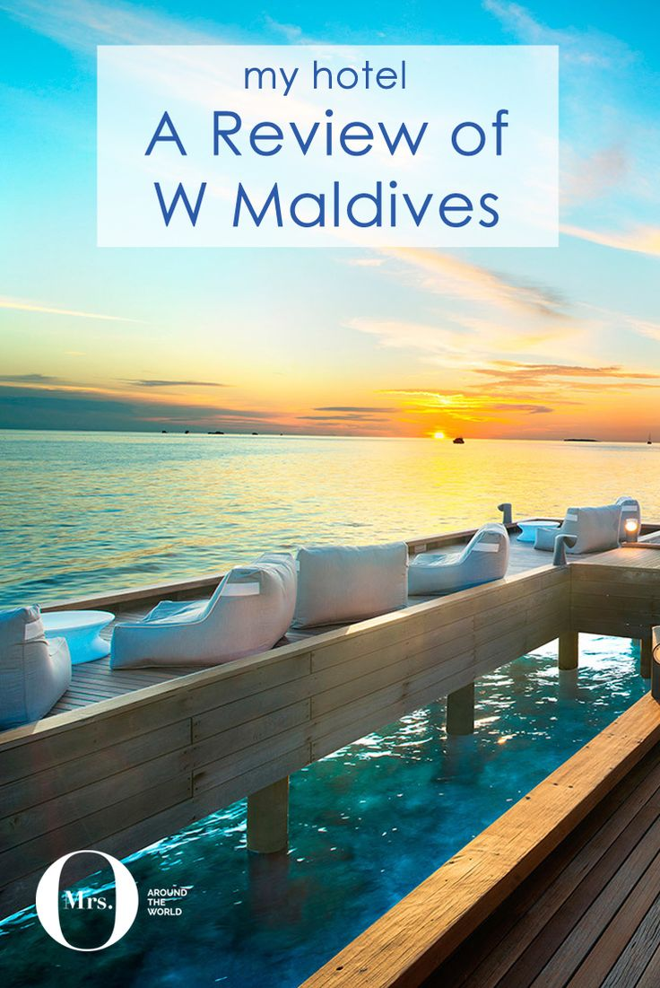 The Maldives is, without a doubt, my favorite place in the world. This time I spent time at the W Maldives. The sunsets are beautiful, everything is effortless, and very personal. One of the three restaurants for dinner, Fish, has a limited menu which is actually excellent. It also offers an excellent view of the beautiful sunset.