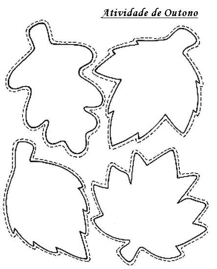 folhas outono desenho - Pesquisa Google