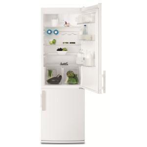 ELECTROLUX - EN3608AOW _ Réfrigérateur Combiné - Réfrigérateur : 245 L - Dégivrage automatique - Froid brassé FreeStore - Clayettes verre - Eclairage LED - 2 bacs à légumes extra-hauts et extra-profonds. Congélateur : 92 L - 3 tiroirs dont un maxi Box Plus.