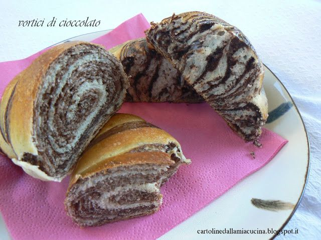Cartoline dalla mia Cucina: Vortici di Cioccolato