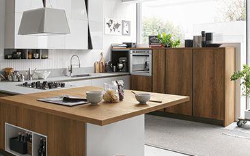Cucina Stosa Infinity: una delle poche cucune moderne italiane con un po' di personalità :) #Cucine #MadeInItaly #Arredo