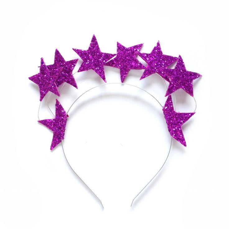 Image of Megan Glitter Star Halo Headband
