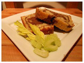 Nutricion Sattvica: Queque mármol de apio