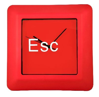 Command Key Clock Esc