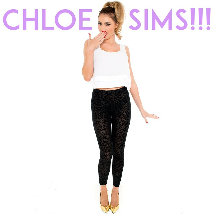Chloe Sims from TOWIE rocking our 'Baroque' leggings! Shop: https://stylemeceleb.co.uk/product/baroque-black-burn-out-leggings-styled-by-chloe-sims/