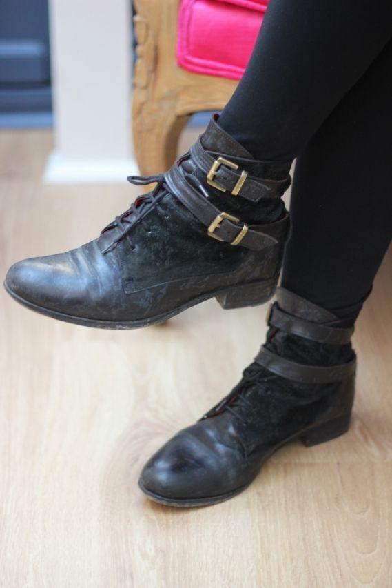 Boots vintage Lily Tabuba Paris | Chapeau Stetson à la Calamity Jane | Timodelle Magazine
