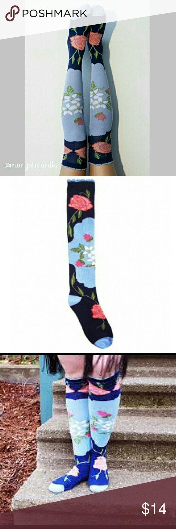 """🆕 NWT Peony & Moss """"Country"""" Knee High Socks …"""