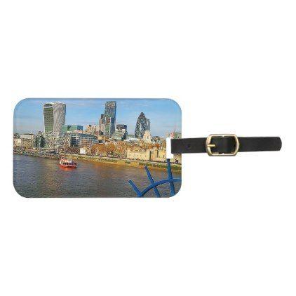 London Personalize Luggage Tag - accessories accessory gift idea stylish unique custom