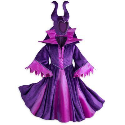 Med dette Malavia kostume kan du forvandle dig til den fortryllende smukke skurk. Fremstillet i lilla velour med en dramatisk krave samt naturligvis Malavias karakteristiske hovedbeklædning med horn.