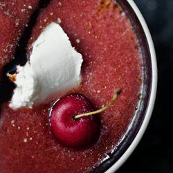 Gazpacho pomidorowo-czereśniowe - Przepis