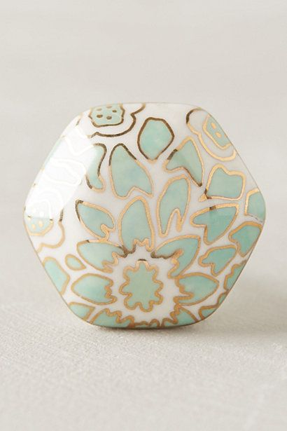 River Reflection Knob #anthropologie
