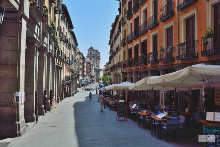 Madrid near Plaza Mayor