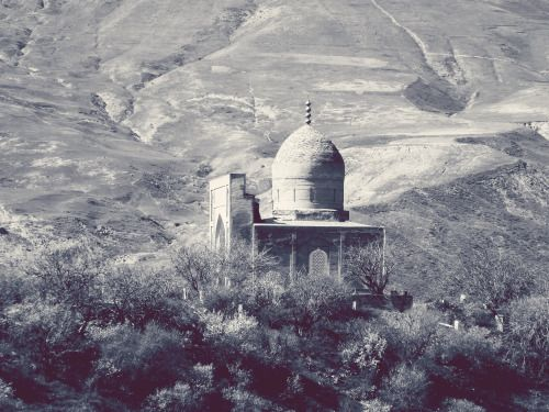 Mosque close to Afghanistan's border