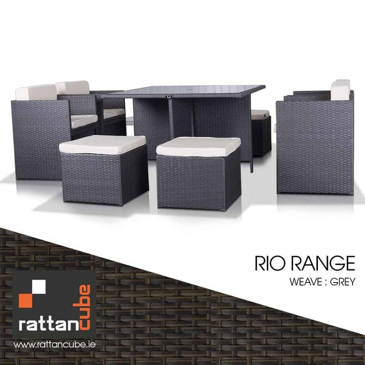 8 Seater Rio Range   Outdoor furniture sets, Rattan ...